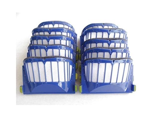 10 x Aero Vac Filter for iRobot Roomba 500 600 Series 536 550 551 620 650 Vacuum Cleaner Accessory