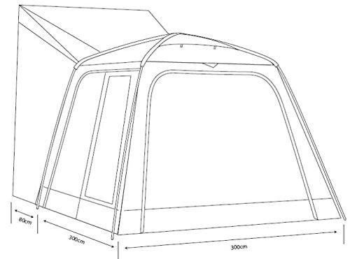 Outdoor Revolution Cayman XL Auvent de Camping-Car autoportant