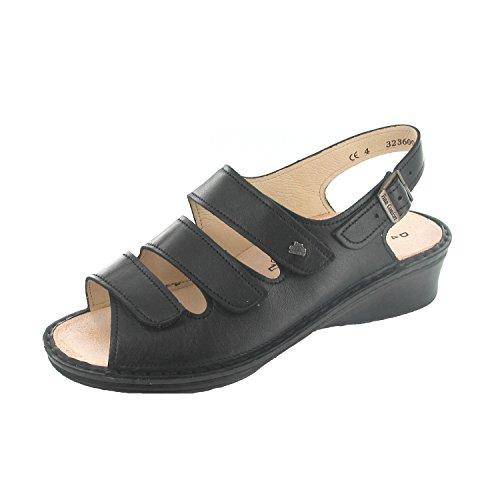 FinnComfort SAMOA 2664014099 femmes Sandales, noir 40.5 EU