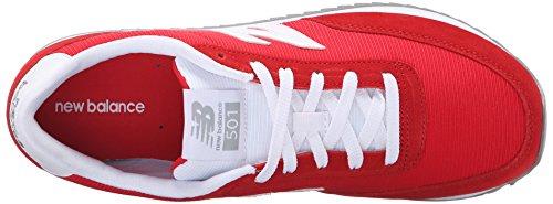 Running MZ501V1 90s New White Red Balance Men's Shoe Normcore EtFqvXwx