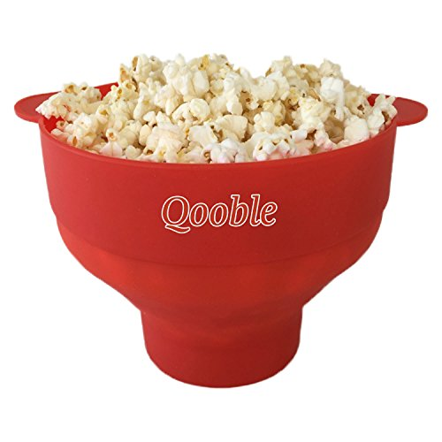 Qooble Microwave Silicone Popcorn Popper product image