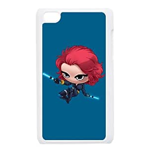 iPod Touch 4 Case White Baby Black Widow LSO7826765
