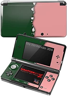 Amazon.com: Nintendo 3DS Decal Style Skin - Ripped Colors ...