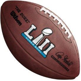8bef27b49de Amazon.com  Super Bowl 52 LII Authentic Full Size Game Football ...