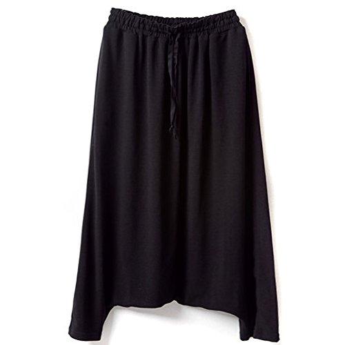 PanDaDa Womens Striped Cropped Trousers