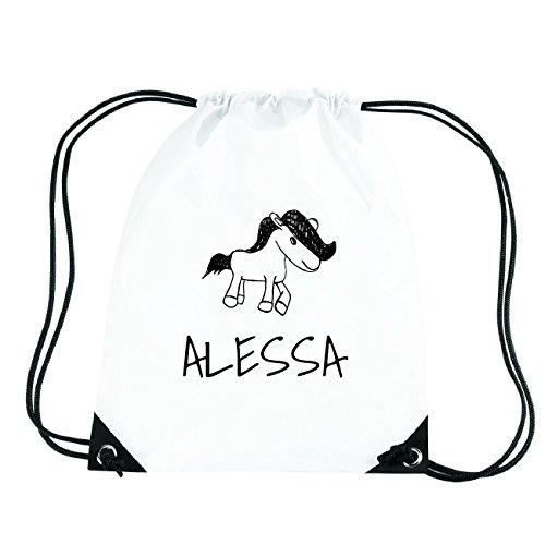 JOllipets ALESSA Turnbeutel Sport Tasche PGYM5090 Design: Pony bTVa44j