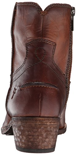 Frye Womens Ray Søm Kort Boot Cognac-75883