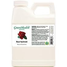 Rose Hydrosol - 16 fl oz Plastic Jug w/ Cap - 100% pure, distilled from essential oil