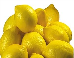 Fresh Organic Lemons - 1 Dozen