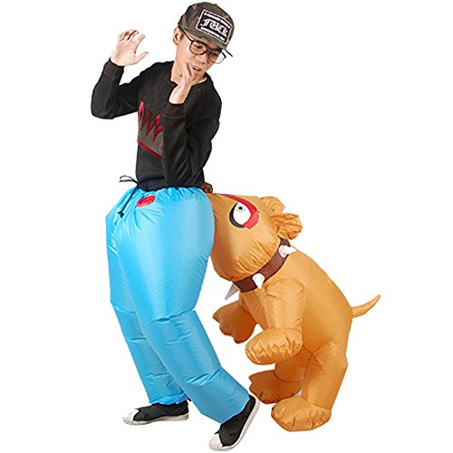 H&ZY Inflatable Halloween Costume Adult and Children Carry On Animal Fancy Dress Costumes Dog