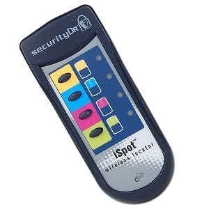 iSpot Wireless Tracker Remote Control Key Finder Lost Item Locator