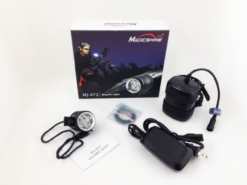 Price comparison product image MagicShine MJ-872 1600 Lumen LED Cycling Bike Light With 6.6Ah Battery Pack (50% more capacity than the default battery)