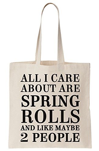 All Canvas Care Bag Maybe Rolls Spring About Tote 2 Like And I Are People TTPRraq