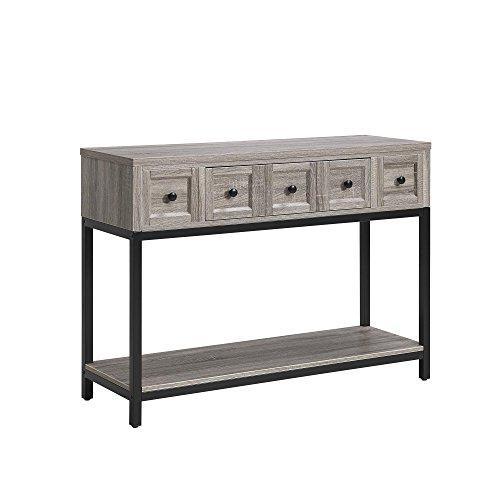 Altra Furniture Console Table in Sonoma Oak Finish