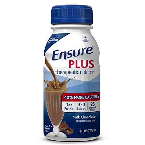Ensure Plus Chocolate Flavor 8 oz. Bottle Ready to Use, 58299 – Each