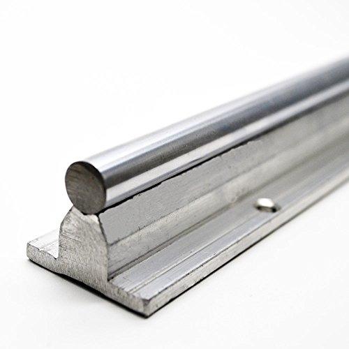 YAYANG Linear Guides Rail de Guidage lin/éaire de SBR10 200 300 350 450mm 4pcs SBR10 lin/éaire des Blocs de palier for CNC lin/éaire Rail de Guidage ferroviaire SBR10 600 Durable Parts
