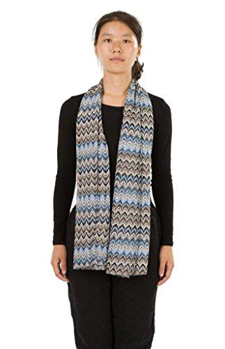 HUAN XUN Stripe Chevron Infinity Circle Scarf Soft Lightweight Floral Scarf Shawl