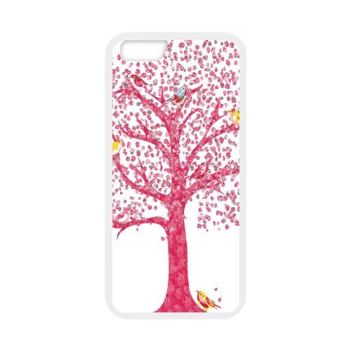 """Fayruz - iPhone 6 Rubber Cases, Tree of Life Hard Phone Cover for iPhone 6 4.7"""" F-i5G88"""