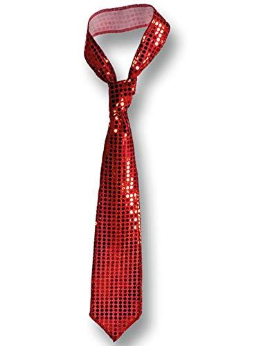 Carnival - Corbata de Lentejuelas, Color Rojo: Carnival T.: Amazon ...