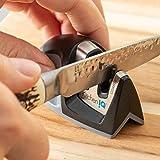 KitchenIQ 50009 Edge Grip 2-Stage Knife