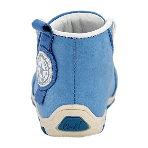 Kinderschuhe sportliche Lauflernschuhe blau Modell Emel 2389 handmade (21)