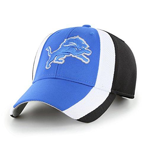 - OTS NFL Detroit Lions Adult Select All-Star MVP Adjustable Hat, One Size, Black