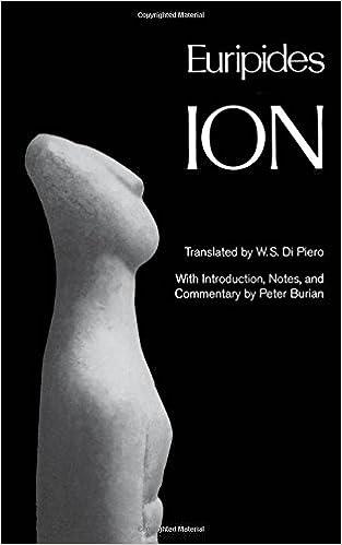 Ion (Greek Tragedy in New Translations)