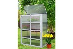 Outflexx Invernadero, aluminio, plata, 45x 45x 46cm