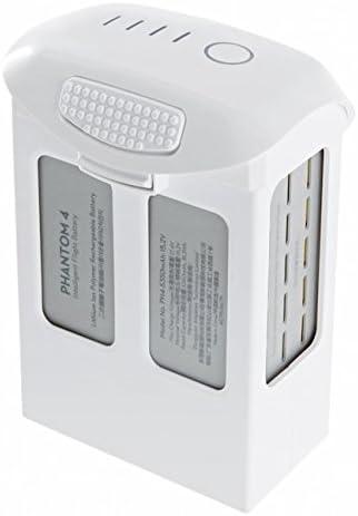 DJI Phantom 4 Battery PRO Bundle, 2 Phantom 4 Batteries, Phantom 4 Charger with Cable, Phantom 4 Propeller Guards, CAMRISE USB Reader, CAMRISE Lanyard and 32GB MICROSD Card