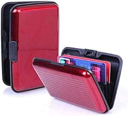 Waterproof Business ID Credit Card Wallet Holder Aluminum Metal Case Box Pocket