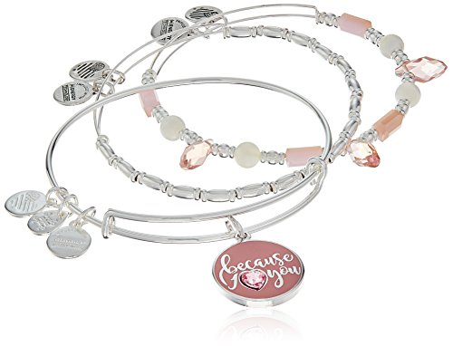 Alex Ani Because Charm Bracelet