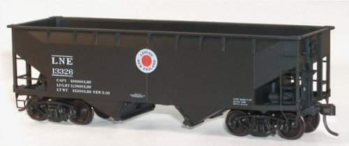 Accurail 7719 HO KIT Offset-side Twin Hopper, (Offset Side Hopper)