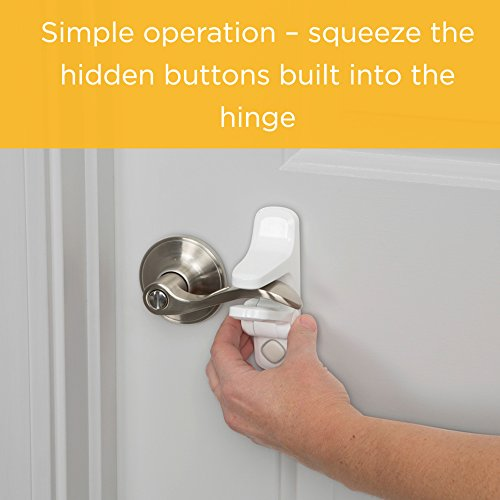 Safety 1st Outsmart Child Proof Door Lever Lock White