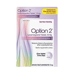 Option 2 Levonorgestrel Tablet, 1.5 mg E...