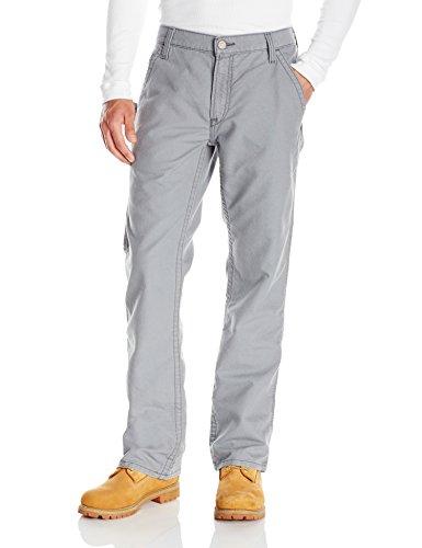 Ariat Men's Flame Resistant M4 Low Rise Boot Cut Jean, Grey, 32 x 34 - Flame Resistant Apparel