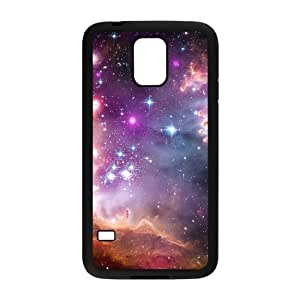 Galaxy Purple The Unique Printing Art Custom Phone Case for SamSung Galaxy S5 I9600,diy cover case ygtg595732