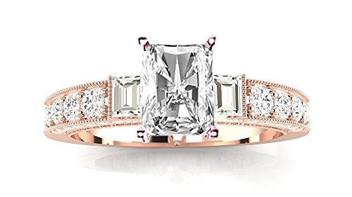 0.75 Ct Radiant Diamond - 6