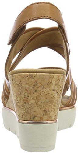 Beige Shoes con Basic Pulsera Gabor Sandalia Mujer Cognac para 401B0q