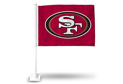 Rico Industries NFL San Francisco 49ers Car Flag ()