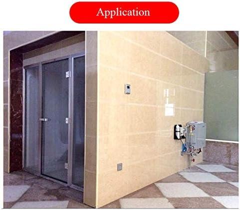 CGOLDENWALL - Generador de vapor profesional de 9 kW para sauna, baño, vaporizador comercial SPA, ducha, sauna, baño, spa con controlador digital, ajuste de hora, bomba de aroma, 220 V: Amazon.es: Bricolaje