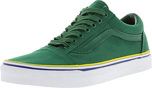 Vans Unisexe Vieux Skool Classique Chaussures De Skate Grn / Blu / Gld