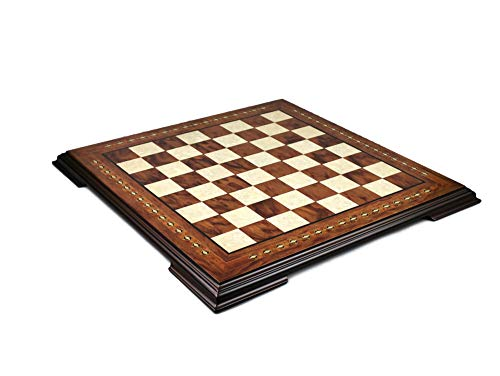 Wooden Helena Chess Board Rosewood- 23″ 2625R