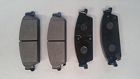 PROFORCE CRD1194 - Top Quality TRUE Ceramic Brake Pads (Rear)