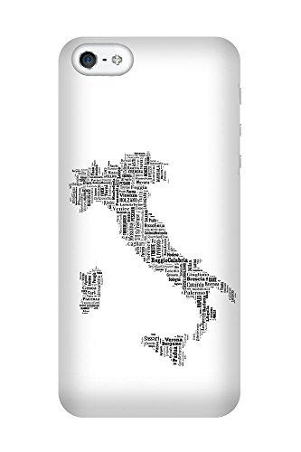 iPhone 4/4S Coque photo - Italie Carte Noire