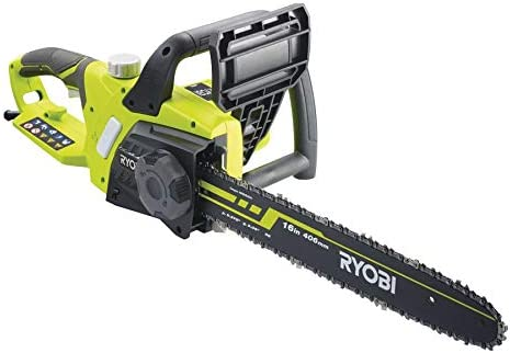 Ryobi 5133002186 RCS2340-Motosierra eléctrica (guía de 40 cm, 2300 W, Verde, Negro: Amazon.es: Bricolaje y herramientas