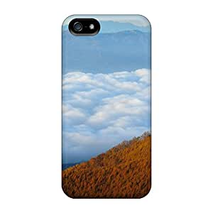 Iphone 5/5s RxGpDAm5561yHRKB Autumn Mountain Forest Nature Tpu Silicone Gel Case Cover. Fits Iphone 5/5s