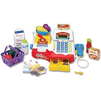 cb3fe3267723 Amazon.com  Learning Resources Pretend   Play Calculator Cash ...