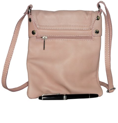 Baby Small Body Leather Bag Made Italian and Bag Soft Storage a Includes Hand Cross Pink Shoulder Handbag Branded Messenger Primo Protective Small Medium Sacchi Pt1OqwWnxB