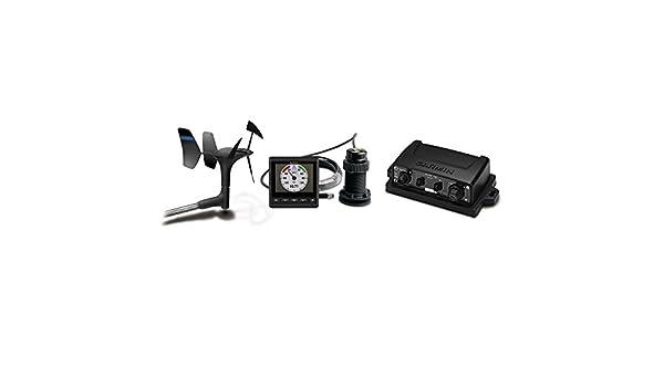 1 – Garmin Viento, Profundidad y Velocidad Bundle w/gWind ™ transductor, Gmi ™ 20, GND 10 & DST800: Amazon.es: Informática