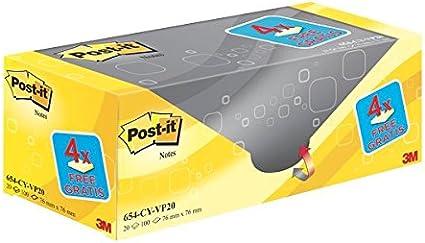 Post-It UU001489762 - Post-it - Pack de 20 blocs notas no ...